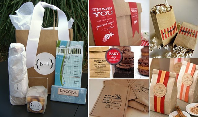 Wedding Research: Welcome Baskets Ribbon Box Events Blog