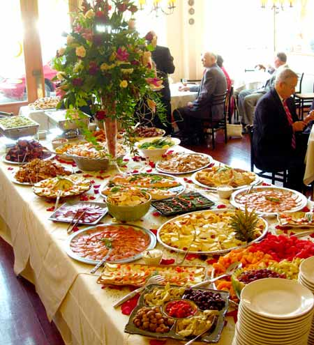 Fashion Wedding Dress Wedding Reception Food Ideas Dinner Buffet