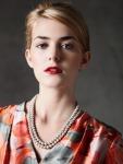 pearl brooch neckalce front