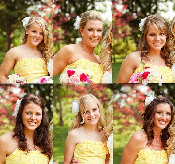 308610ee bridesmaid fascinators | Ribbon Box Events Blog